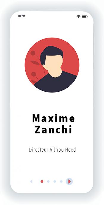 Maxime Zanchi Directeur All You Need
