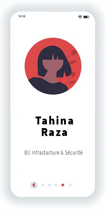 Tahina Raza BU Infrastructure et sécurité
